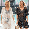 Crochet Swimsuit Cover Up Women Lace Beach Dress Cover-up Daisy Dress For Less