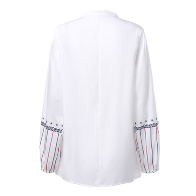 Embroidered Women Tops Long Sleeve Summer Blouses Blouses & Shirts Daisy Dress For Less