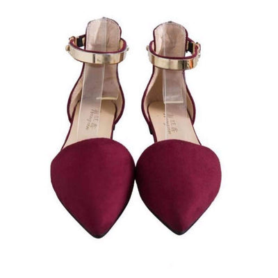 Fashion Hollow Out Ankle Strap Women Flat Shoes Flat shoes Daisy Dress For Less