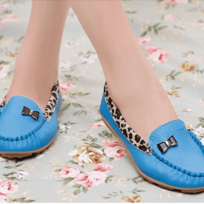 Fashion Slip On Bowtie Flat Shoes Shoes Daisy Dress For Less