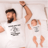 Father And Son Matching Shirt Letter Print Family Shirts Matching Family Outfits hootop Store
