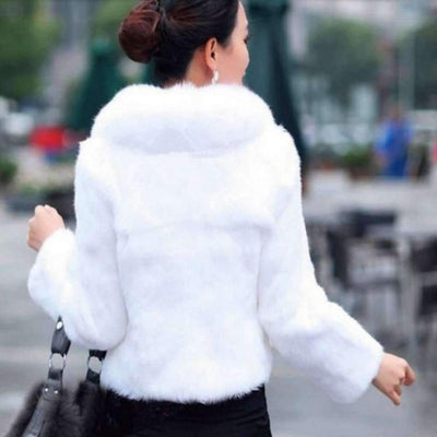 Faux Fur Short Jacket For Women Jackets Daisy Dress For Less