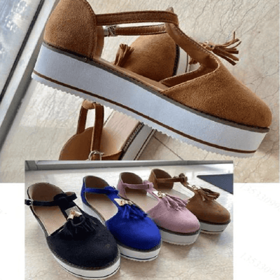 Flat Platform Sandals Womens Suede Summer Shoes Sandals Daisy Dress For Less