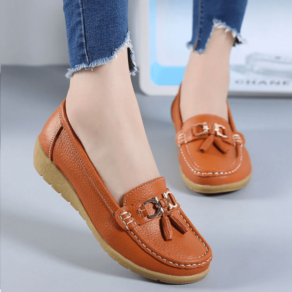 Comfortable Flat Shoes Slip On Moccasins
