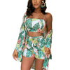 Floral Print Matching Set Womens Summer Three Piece Women's Sets Daisy Dress For Less