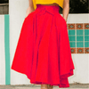 High Waisted Long Skirts A Line Skirt Pattern With Pockets Skirts Daisy Dress For Less