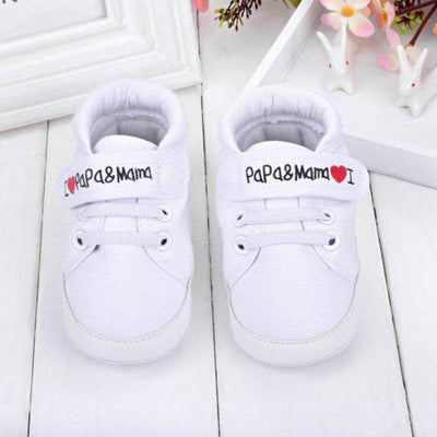 I Love Mama And Papa Toddler Shoes Baby Shoes Kids Now Apparel