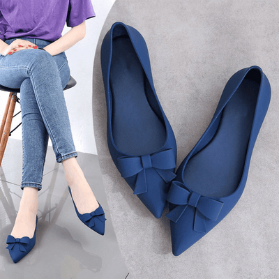 Jelly Women Shoes Pointed Toe Flat Shoes Women's Shoes Daisy Dress For Less