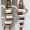 Knee Length Casual Summer Dresses Striped Bodycon Dress Dresses Daisy Dress For Less