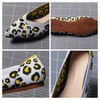 Leopard Print Flat Shoes For Women Shallow Mouth Shoes Women's Flats Daisy Dress For Less