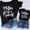 Matching Mother Daughter Shirts Letter Print Matching Tees Matching Family Outfits Kids Now Apparel
