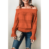 Off Shoulder Women Tops Women Long Sleeve Blouse Blouses & Shirts Daisy Dress For Less