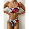 One Shoulder Bathing Suit Floral Bikini Sets Bikini Set Daisy Dress For Less