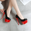 Platform Shoes For Women Leather High Heel Pumps Women's Pumps Daisy Dress For Less