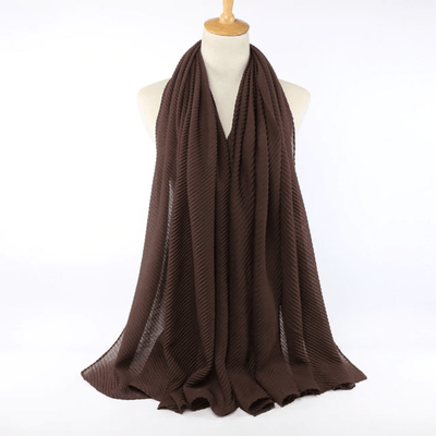 Pleated Scarves Warm Winter Wraps Shawls Women's Scarves Daisy Dress For Less