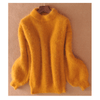 Puff Sleeve Sweatshirt Thick Mohair Turtleneck Sweater Pullovers Daisy Dress For Less