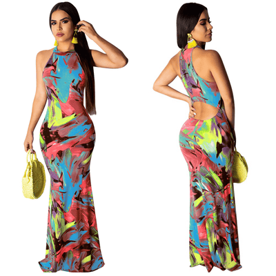 Sleeveless Summer Dress Womens Bodycon Maxi Dress Dresses Daisy Dress For Less