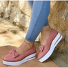 Slip On Flat Shoes Suede Platform Wedge Shoes Women's Shoes Daisy Dress For Less