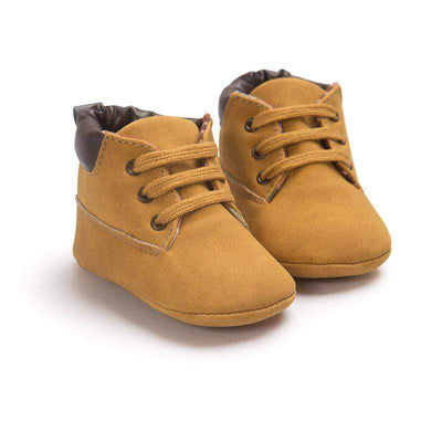 Suede Lace Up Toddler Soft Soled Baby Boy Boots Baby Shoes Kids Now Apparel