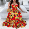 Sun Flower Maxi Dress Long Backless Summer Dresses Dresses Daisy Dress For Less