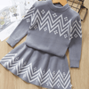 Toddler Winter Clothes Geometric Pattern Dress Dresses Kids Now Apparel