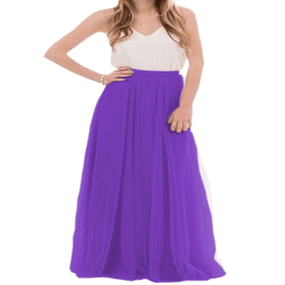 Tulle Maxi Skirt For Women Layered Lace Long Skirt Skirts Daisy Dress For Less