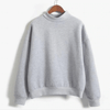 Women Fleece Pullover Long Sleeve Loose Sweatshirt Hoodies & Sweatshirts Daisy Dress For Less