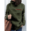 Women Fleece Sweater Turtleneck Warm Pullover Hoodies & Sweatshirts Daisy Dress For Less