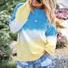 Women's Pullover Hoodies Crew Neck Pullover Sweater Hoodies & Sweatshirts Daisy Dress For Less