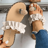 Women Summer Sandals Flip Flop Slippers With Beads Women's Sandals Daisy Dress For Less