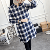 Womens Check Shirts Long Sleeve Tartan Top Blouses & Shirts Daisy Dress For Less