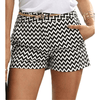 Womens Shorts With Pockets High Waisted Printed Shorts Shorts Daisy Dress For Less