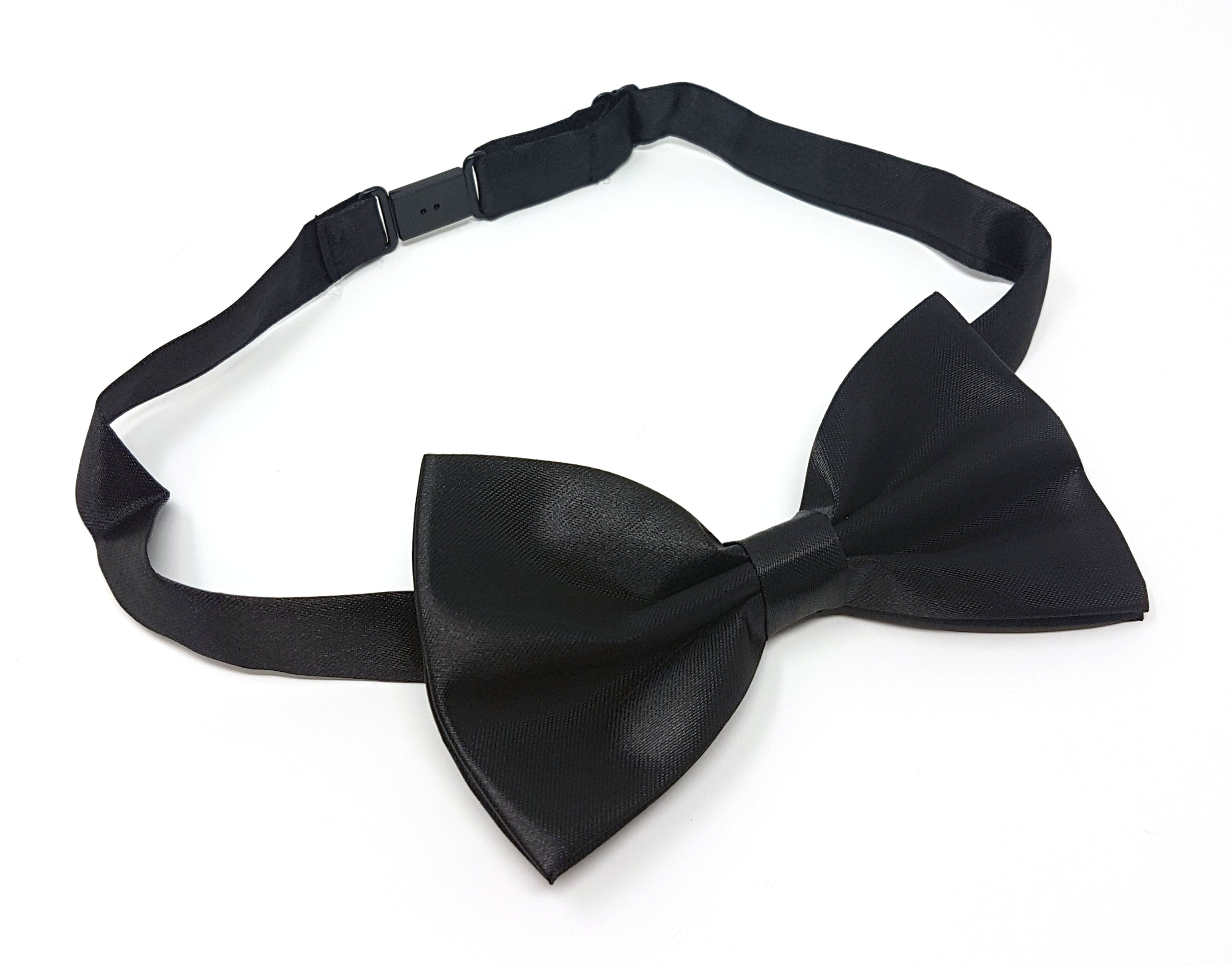 Adults Plain Pre Tied Party Wear Bow Tie With Box Mens Party Wear Fancy Accessory