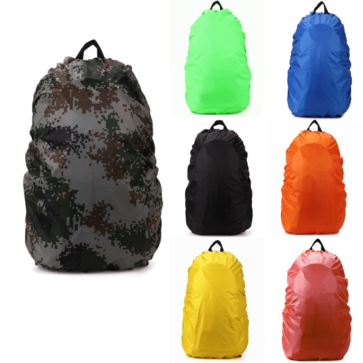 Waterproof Covers Back Pack 35L//70L Bag Camping Hiking Outdoor Rain Accessories