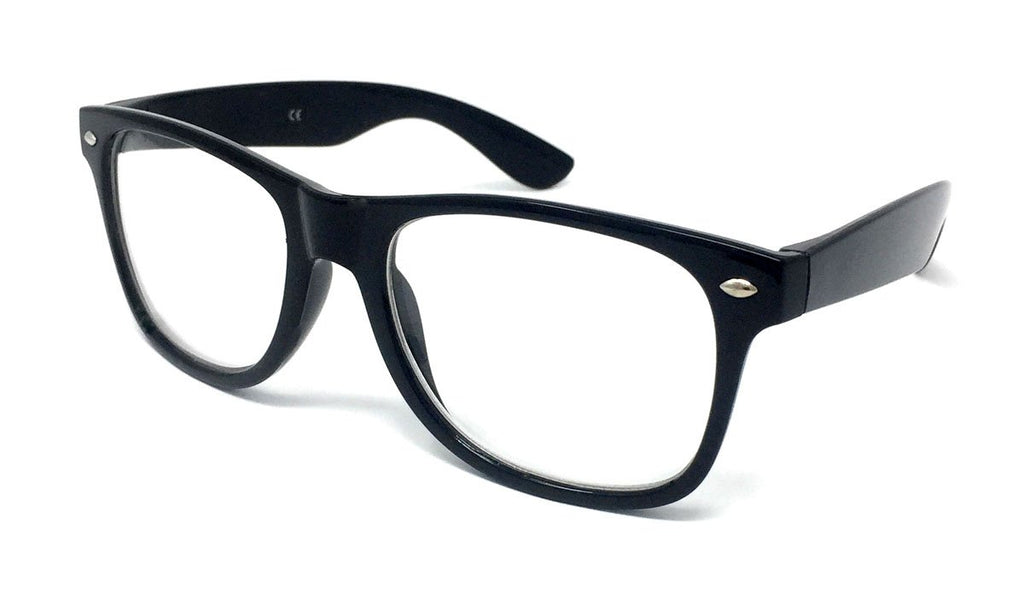 4e84c259bab Wholesale Classic Clear Lens Glasses - Black Frame