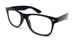 Wholesale Classic Clear Lens Glasses - Black Frame
