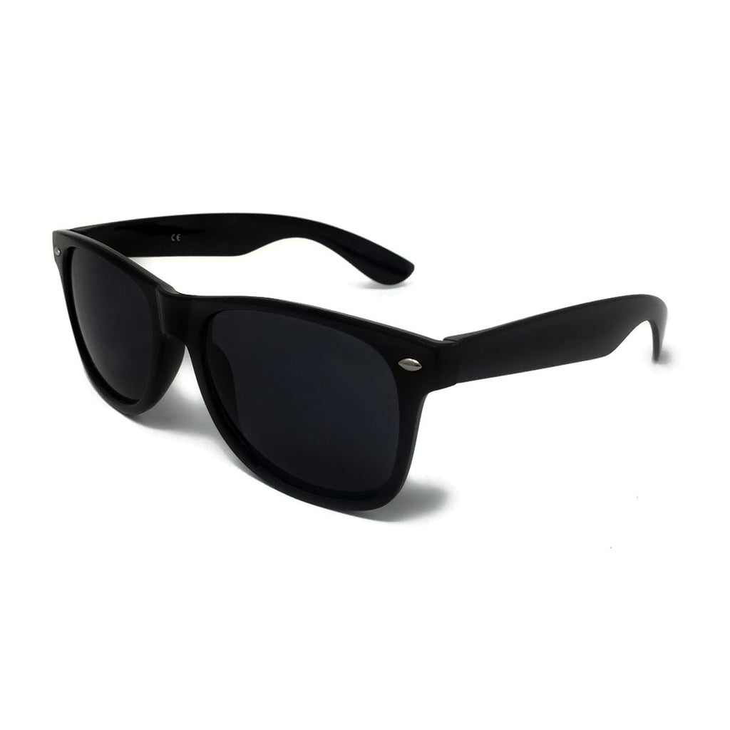 Wholesale Kids Classic Sunglasses - Black Frame, Black Lens