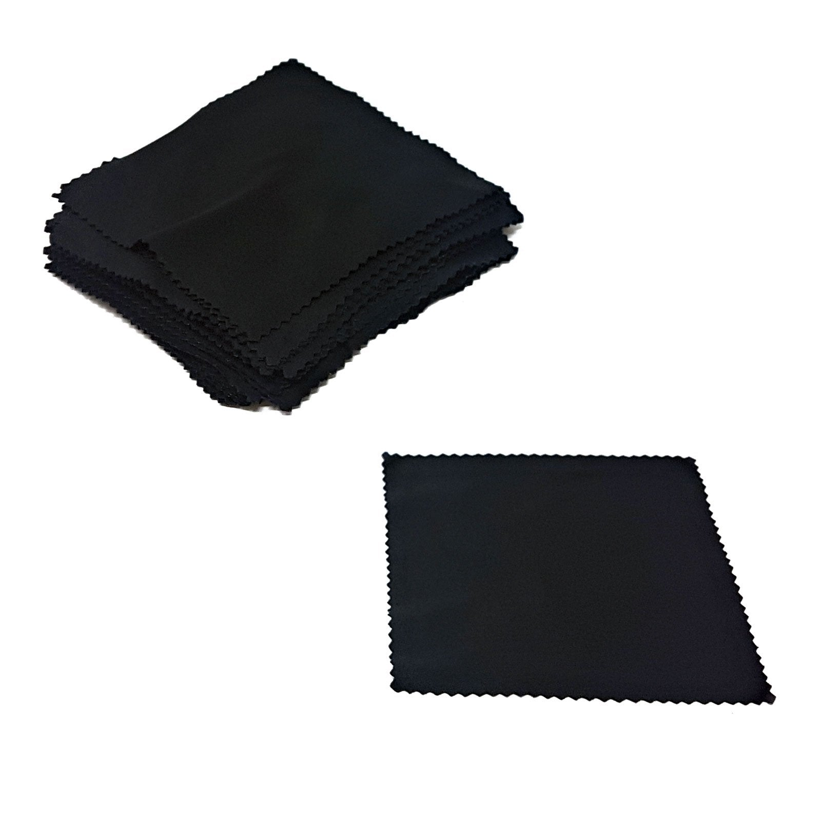 Wholesale Lens Cleaning Cloths - Black