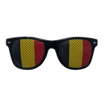 Novelty Sunglasses - Belgium Flag Lens Print