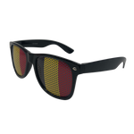 Wholesale Novelty Sunglasses - Belgium Flag Print