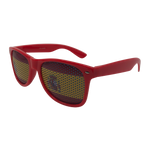 Wholesale Novelty Sunglasses - Spain Flag Print