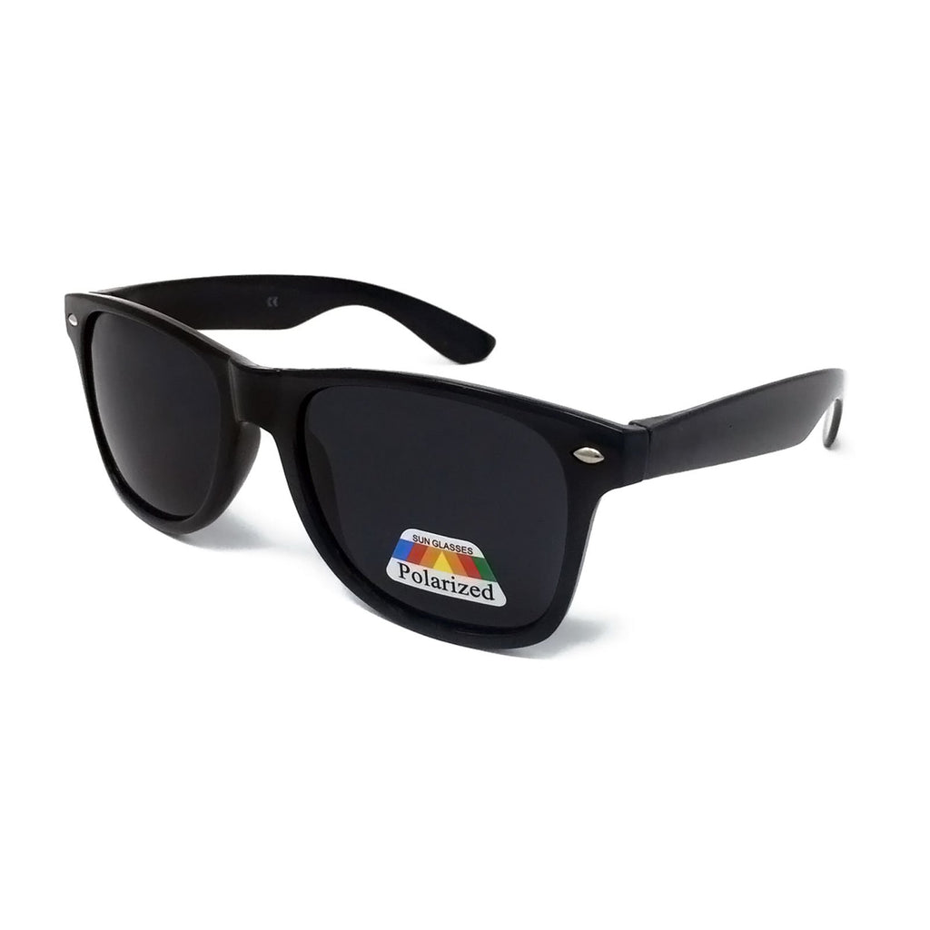 Kids Polarised Classic Sunglasses - Black