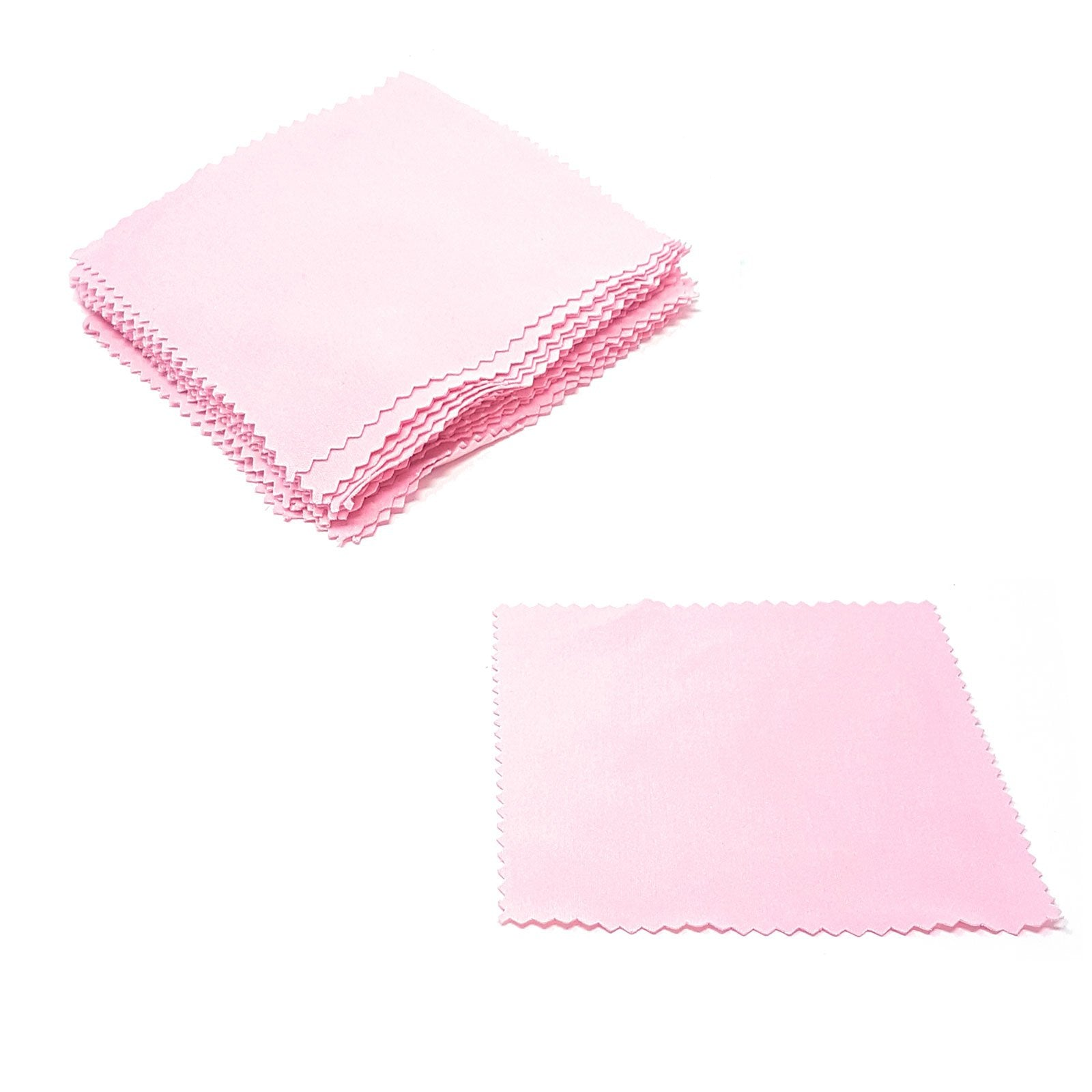 Wholesale Lens Cleaning Cloths - Light Pink
