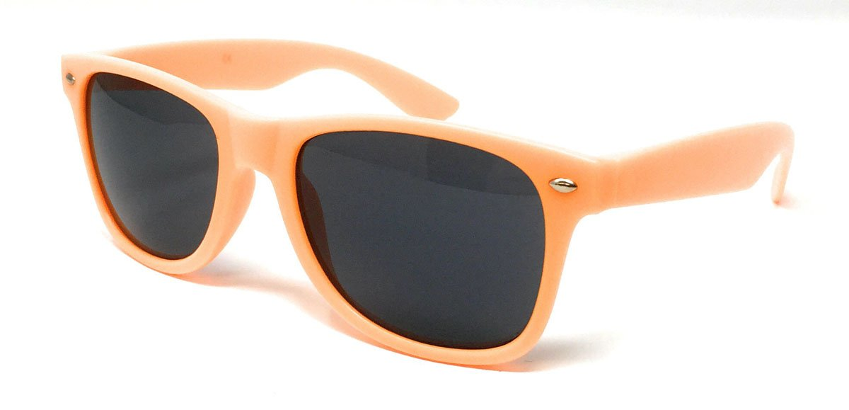 Wholesale Classic Sunglasses - Matte Orange