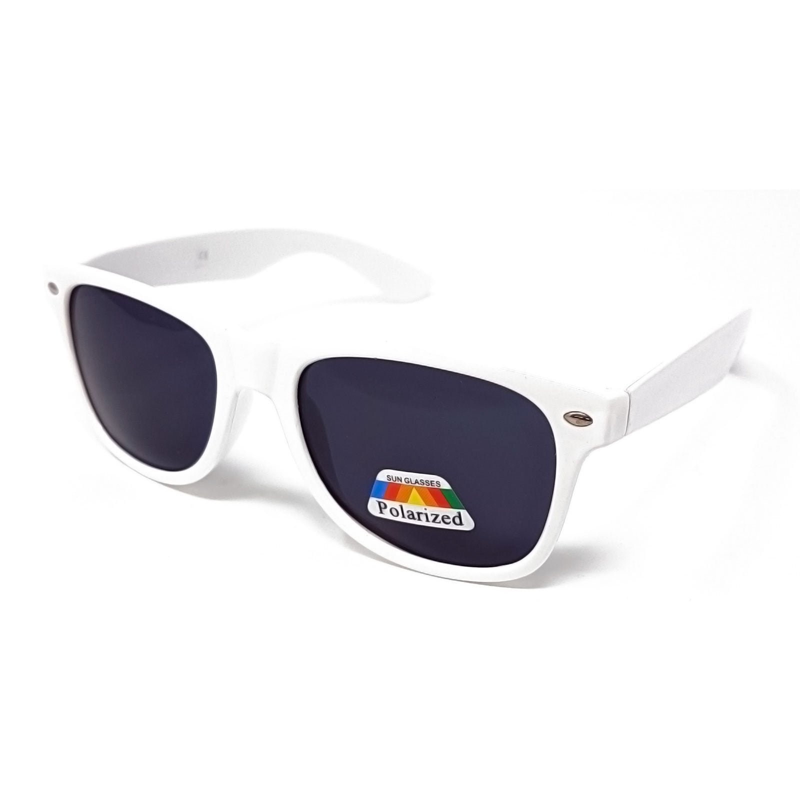 Polarised Classic Sunglasses - White