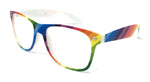 Wholesale Classic Clear Lens Glasses - Rainbow Frame