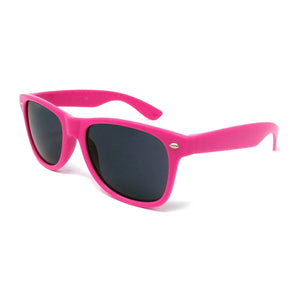Wholesale Classic Sunglasses - Rose Pink Frame, Black Lens