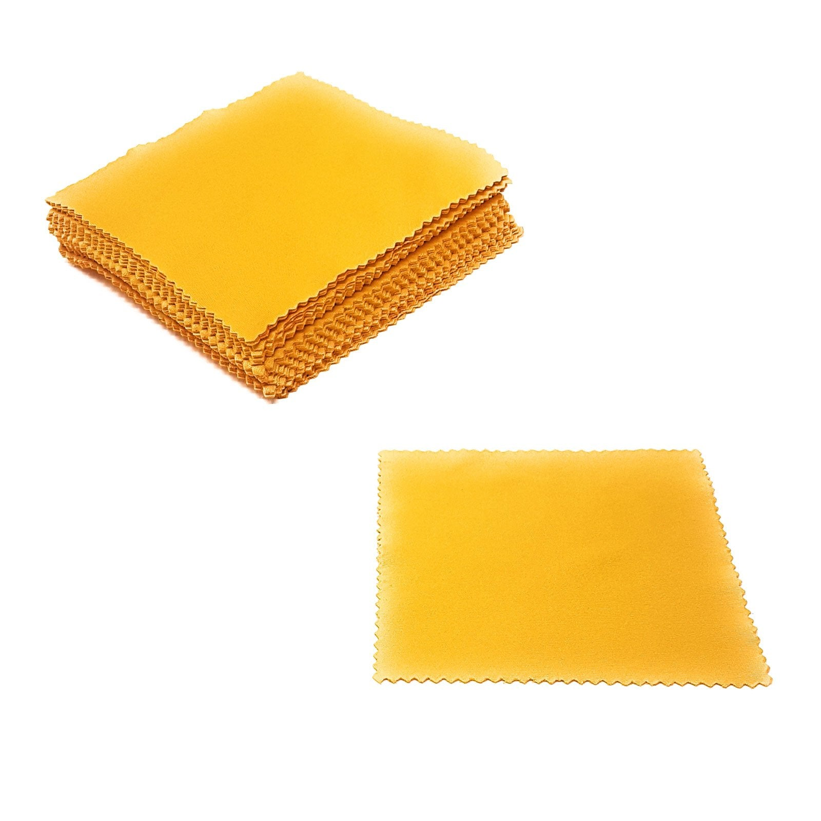 Wholesale Lens Cleaning Cloths - Yellow