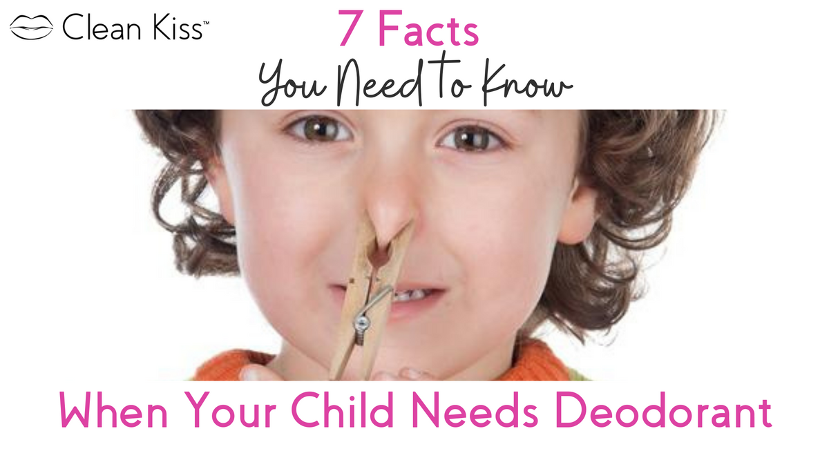 7 Facts to Know When Your Child Needs Deodorant - 2021 Update