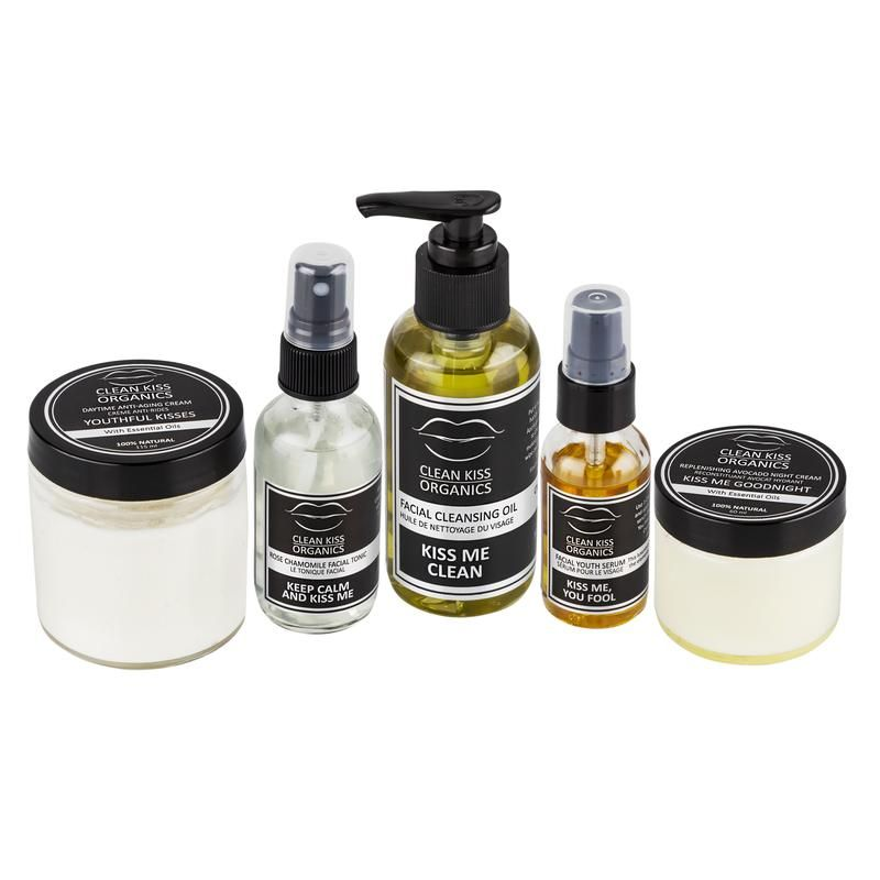 Premium All Natural Skincare Products From Clean Kiss Organics